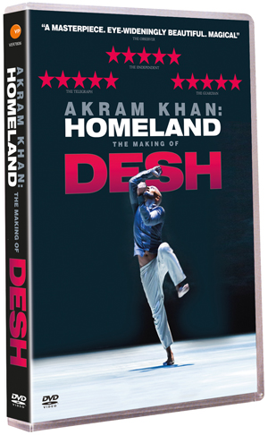 Akram Khan: Homeland - The Making of Desh (2012) (Retail / Rental)