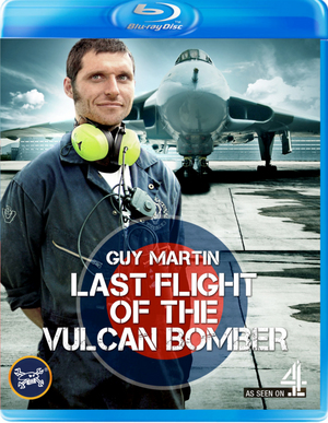 Guy Martin: The Last Flight of the Vulcan Bomber (2015) (Blu-ray) (Retail / Rental)