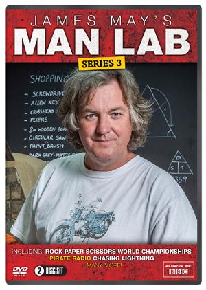 James May's Man Lab: Series 3 (2013) (Retail / Rental)