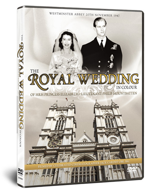 The Royal Wedding in Colour - HRH Princess Elizabeth... (1947) (Retail / Rental)
