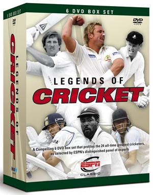 Legends of Cricket: Collection (2008) (Retail / Rental)