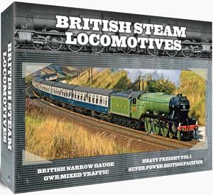 British Steam Locomotives: Gift Set (Gift Set) (Retail / Rental)