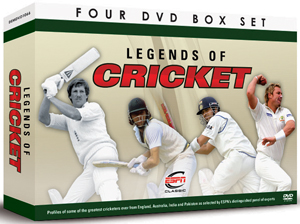 Legends of Cricket (Box Set) (Retail / Rental)