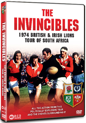 The Invincibles - The 1974 Lions Rugby Tour of South Africa (1974) (Retail / Rental)