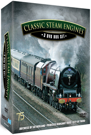 Classic Steam Engines: Collection (Box Set) (Retail / Rental)