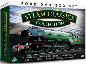 British Steam Classics (Box Set) (Retail / Rental)