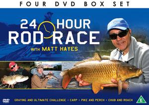 Matt Hayes: 24 Hour Rod Race (Gift Set) (Retail / Rental)