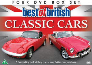 Best of British Classic Cars (Gift Set) (Retail / Rental)