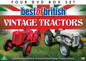 Best of British Vintage Tractors (Gift Set) (Retail / Rental)