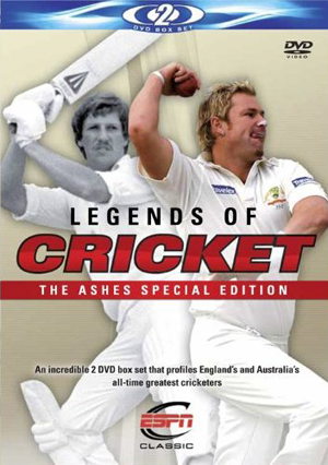 Legends of Cricket: The Ashes (2009) (Special Edition) (Retail / Rental)