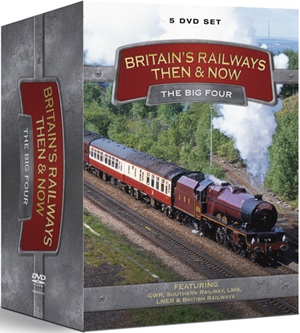 Britain's Railways - Then and Now: The Big Four (2010) (Retail / Rental)