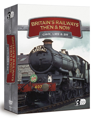 Britain's Railways - Then and Now: Collection (Retail / Rental)