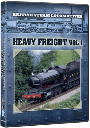 British Steam Locomotives: Heavy Freight - Volume 1 (Retail / Rental)