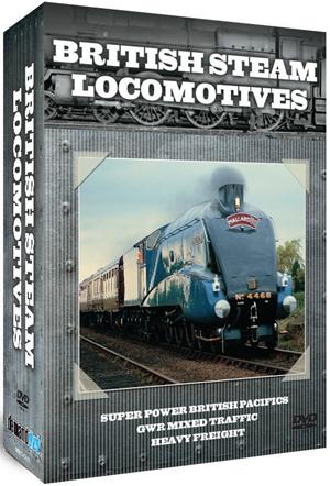 British Steam Locomotives: Collection (Box Set) (Retail / Rental)