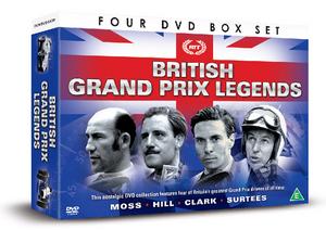 British Grand Prix Legends (2014) (Gift Set) (Retail / Rental)