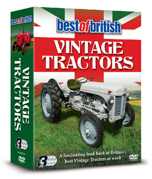 Best of British Vintage Tractors (2013) (Box Set) (Retail / Rental)