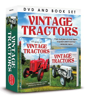 Vintage Tractors (with Book) (Retail / Rental)