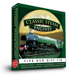 Classic Steam Engines (Tin Case Box Set) (Retail / Rental)