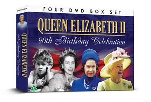 Queen Elizabeth II On Film: 90th Birthday Celebrations (2016) (Box Set) (Retail / Rental)