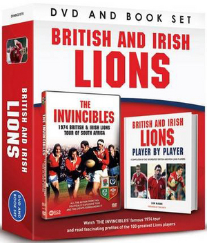 The Invincibles - The 1974 Lions Rugby Tour of South Africa (1974) (with Book) (Retail / Rental)