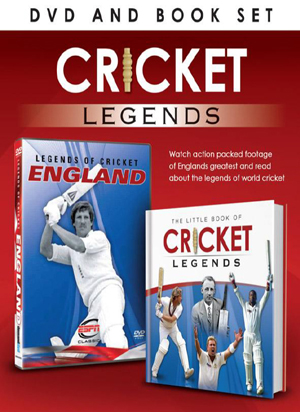 Legends of Cricket: England (with Book) (Retail Only)