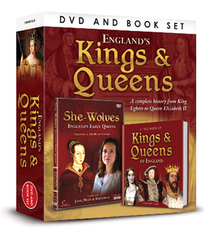 Great British Icons: Kings and Queens (2012) (with Book) (Retail Only)