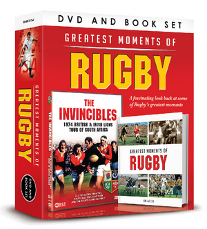 The Invincibles - The 1974 Lions Rugby Tour of South Africa (1974) (with Book) (Retail Only)