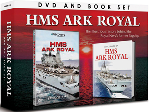 HMS Ark Royal (2012) (With Book) (Pulled)