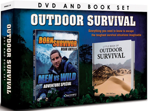 Bear Grylls: Born Survivor Adventure Special - Men Vs Wild (2009) (With Book) (Deleted)