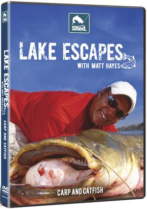 Matt Hayes: Lake Escapes - Carp and Catfish (Retail / Rental)