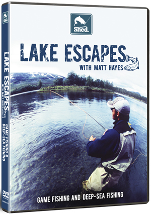 Matt Hayes: Lake Escapes - Game and Deep Sea Fishing (Retail / Rental)