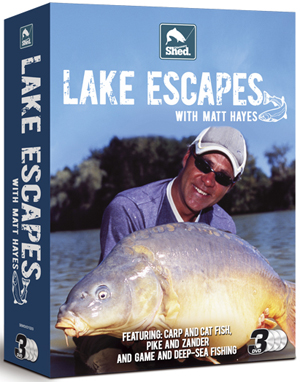 Matt Hayes: Lake Escapes - Triple Pack (Box Set) (Retail / Rental)