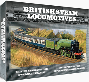 British Steam Locomotives: Gift Set (Gift Set) (Deleted)