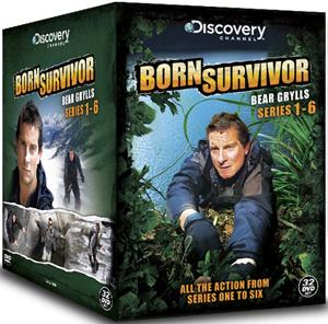 Bear Grylls: Born Survivor - Seasons 1-6 (2011) (Box Set) (Deleted)