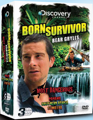 Bear Grylls: Born Survivor - Most Dangerous Triple (Box Set) (Deleted)