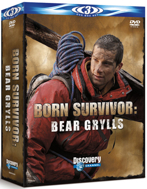 Bear Grylls: Born Survivor - Sahara, Patagonia and Bear Eats (2011) (Deleted)
