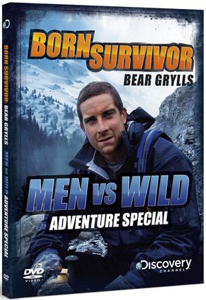 Bear Grylls: Born Survivor Adventure Special - Men Vs Wild (2009) (Retail / Rental)