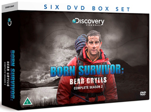 Bear Grylls: Born Survivor - Complete Season Two (Gift Set) (Deleted)