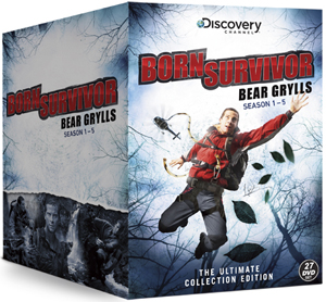 Bear Grylls: Born Survivor - Seasons 1-5 (2010) (Box Set) (Deleted)