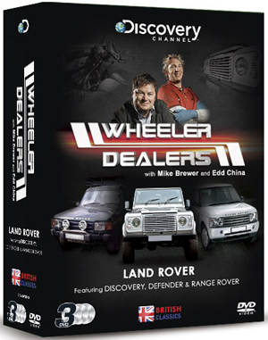 Wheeler Dealers: British Classics - Land Rover (Box Set) (Retail / Rental)