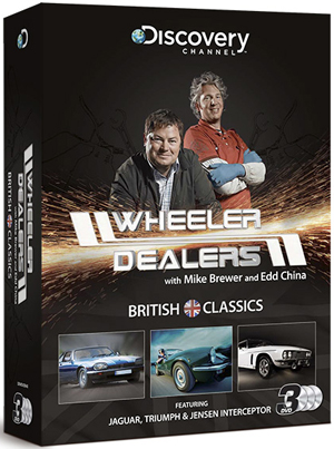 Wheeler Dealers: British Classics - Triple Pack (Box Set) (Retail / Rental)