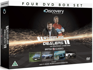 Wheeler Dealers: British Classics - Collection (Gift Set) (Retail / Rental)