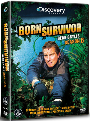 Bear Grylls: Born Survivor - Complete Season Six (2011) (Box Set) (Retail / Rental)
