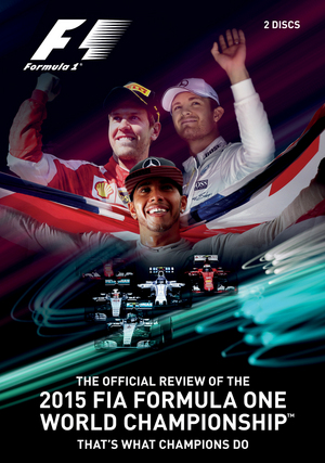 FIA Formula One World Championship: 2015 - The Official Review (2015) (Retail Only)