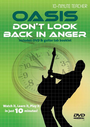 10-minute Teacher: Oasis - Don't Look Back in Anger (Retail Only)