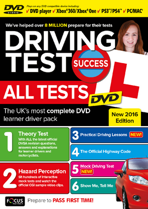 Driving Test Success: 2016 - All Tests (2016) (Retail / Rental)