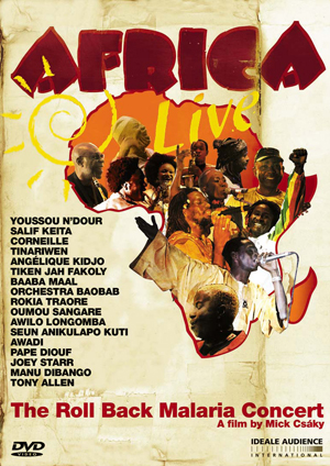Africa Live - The Roll Back Malaria Concert (2005) (Retail / Rental)
