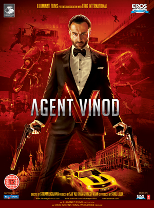 Agent Vinod (2011) (Retail / Rental)
