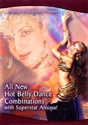 Ansuya: All New Hot Bellydance Combinations (2012) (Retail / Rental)