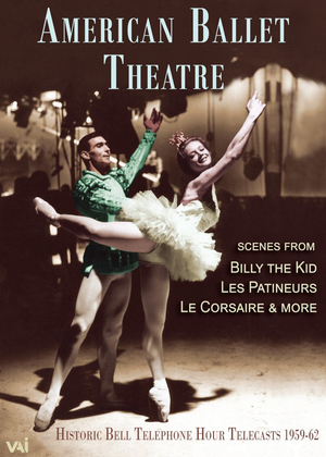 American Ballet Theatre: Billy the Kid/Les Patineurs/Le Corsaire (Retail Only)